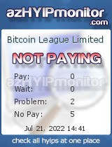 azHYIPMonitor.com - hyip bitcoin league limited
