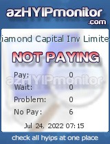 azHYIPMonitor.com - hyip diamond capital inv limited