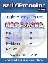 azHYIPMonitor.com - hyip origin money limited