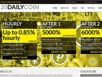 hyip 20 daily Coin