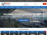 hyip Bitcoin Boster Investment