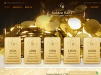 hyip Golden bank investment