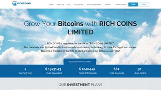 hyip Rich Coins Limited