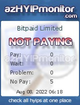 hyip bitpaid limited