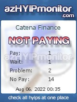 hyip catena finance
