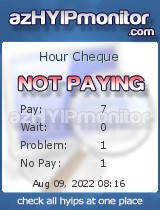 hyip hour cheque