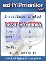 hyip invest lister limited