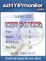 hyip monitor lutex ltd