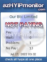 hyip our btc limited
