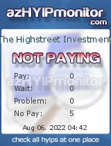 hyip the highstreet investment